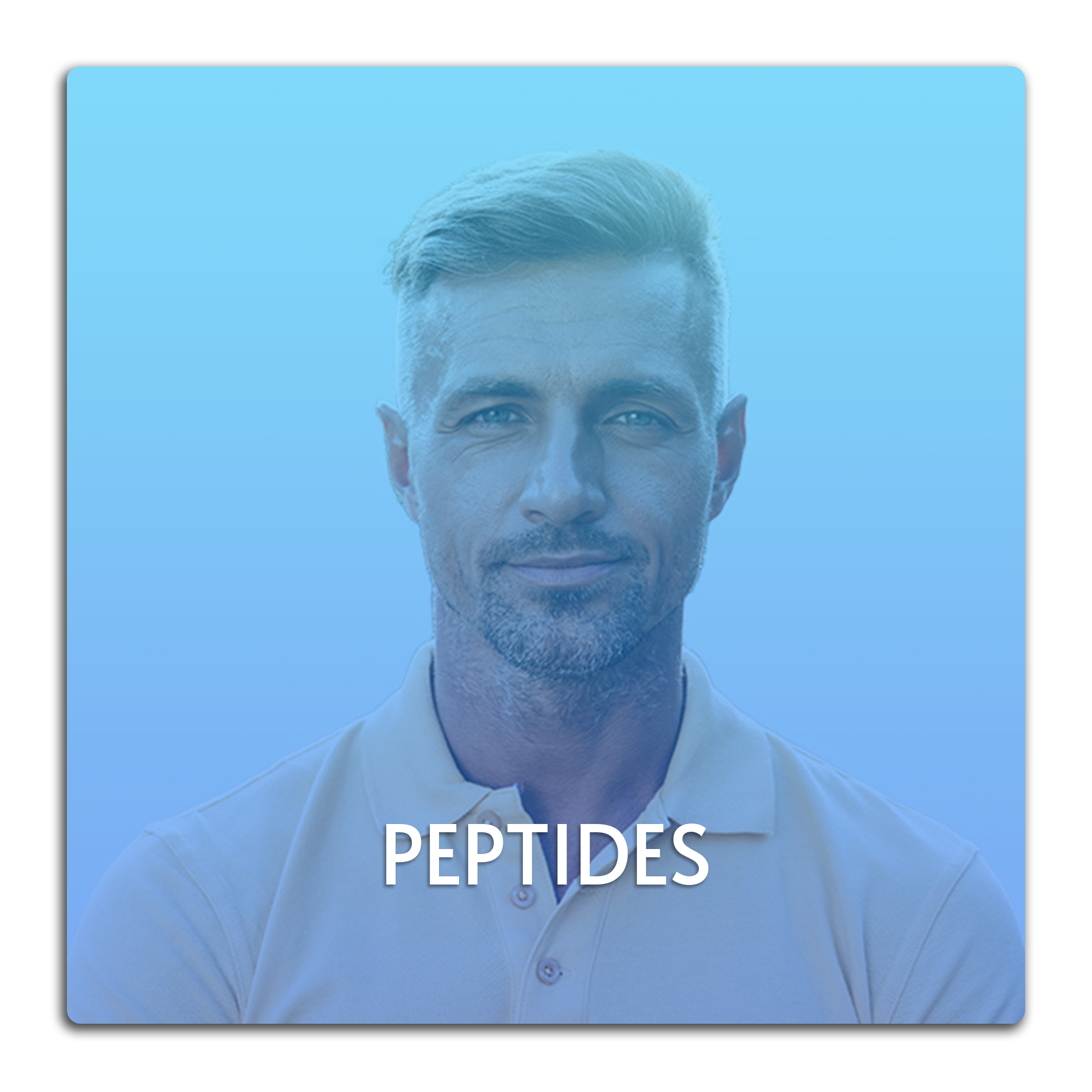 This image is a button linked to the Peptides page