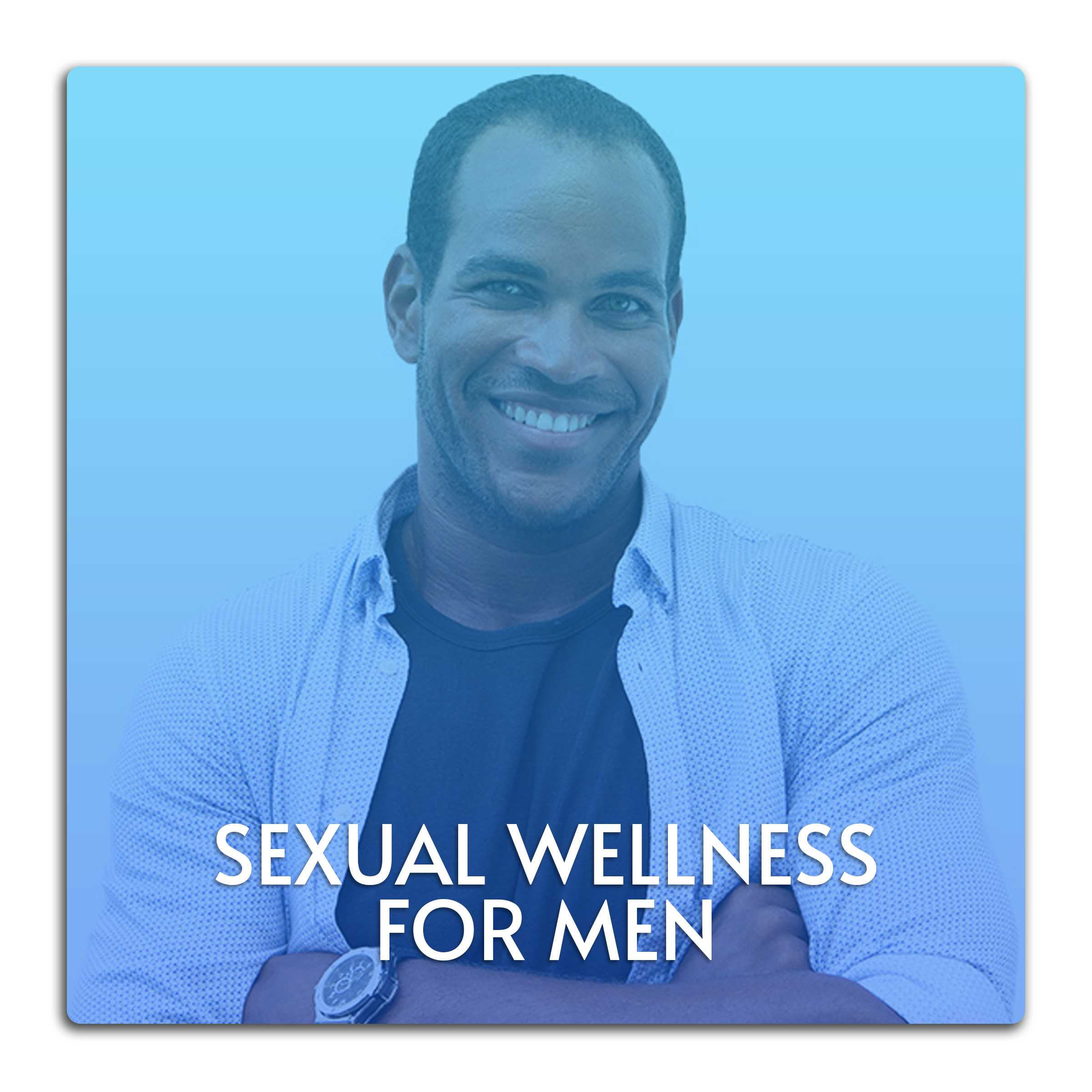 This image is a button linked to the Sexual Wellness for Men page